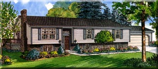 Raised Ranch Style Homes Available From Building Blocks LLC